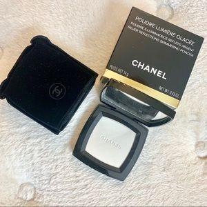 Chanel LE Poudre lumière glacée-Silver Shimmer NIB